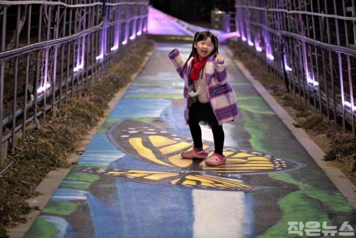 광양시 서천변 꽃 터널, 트릭아트 포토존 변신-도시재생과 5.jpg
