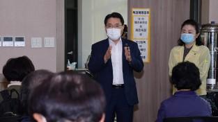 권오봉 여수시장, 독감예방접종 현장 방문