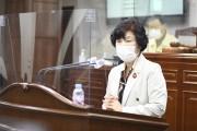순천시의회 이영란 의원, 시정 질문 통해  보건소장 임명과 경도주권탑 위법성 지적