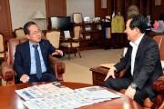 허석 순천시장, 정세균 국무총리 만나 주요 현안사업 논의