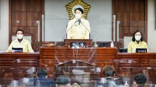 순천시의회, 제248회 임시회 개회