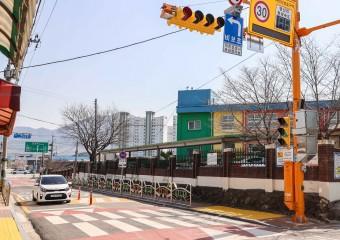 구례군, 어린이보호구역 개선사업 4억원 투입