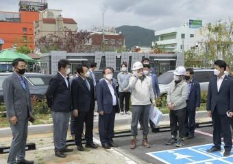 순천시, 남정지구 우수저류시설 설치사업 준공