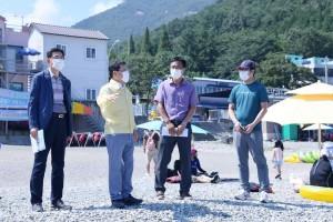 권오봉 여수시장, 코로나19 재확산에 따른 관광지 방역체계 점검